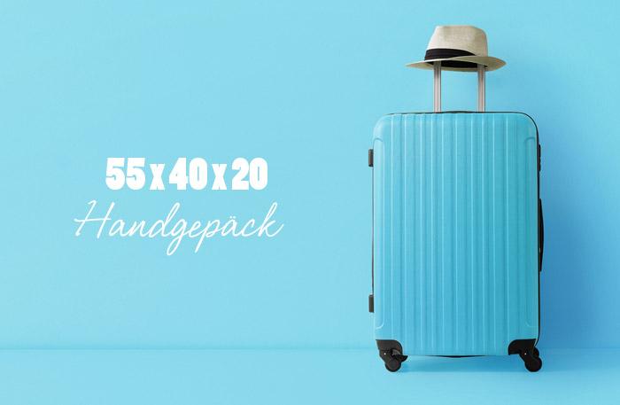 Handgepäckkoffer 55x40x20