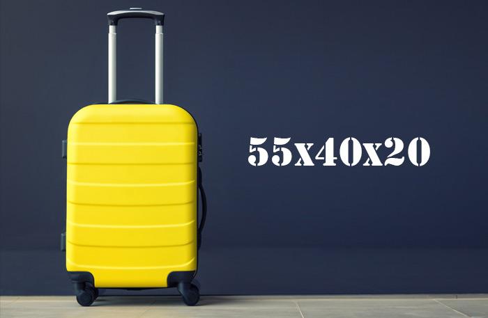 Hartschalenkoffer 55x40x20