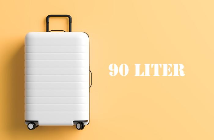 Hartschalenkoffer 90 Liter - 90 l