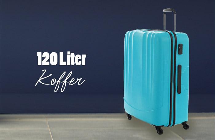 Koffer 120 L - Reisekoffer mit 120 Liter Volumen