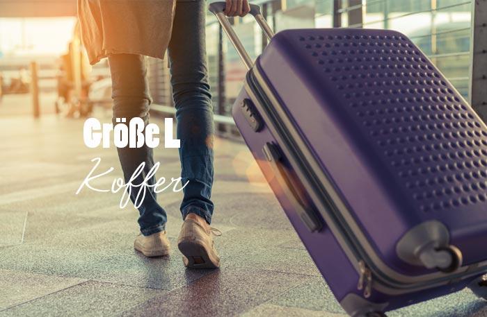 Koffer Größe L
