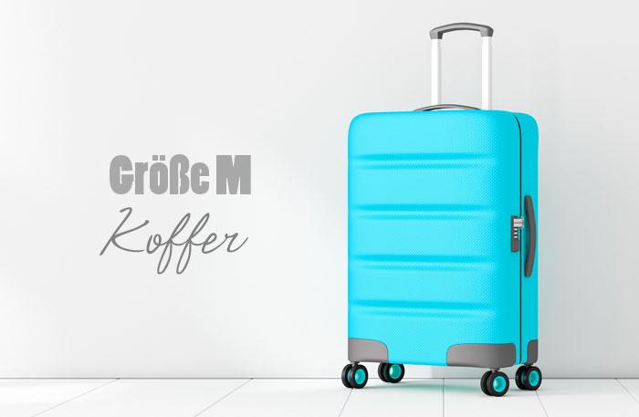 Koffer Größe M - Mittelgroße Koffer