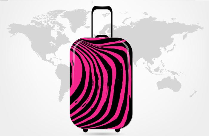 Koffer mit Motiv - Motivkoffer Hartschalenkoffer