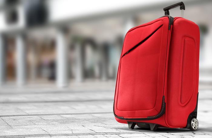 Weichschalen Koffer - Weichschalenkoffer Rot