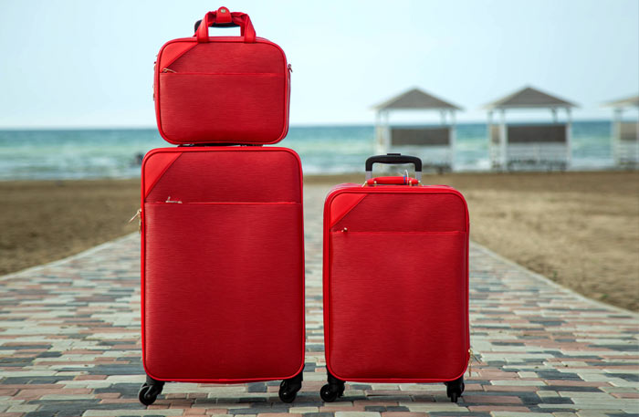 Kofferset mit TSA Schloss